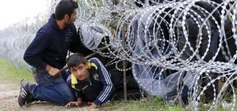 В Венгрии ввели уголовное наказание за нелегальное пересечение границы. Видео