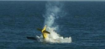 Самолет рухнул в море на авиашоу в Бразилии. Видео