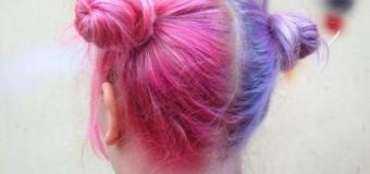 Новая «эпидемия» моды: девушки красят волосы в два цвета. Фото