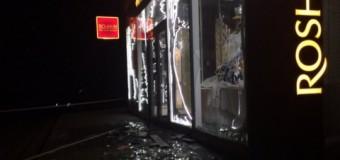 В Харькове взорвали магазин Roshen. Видео