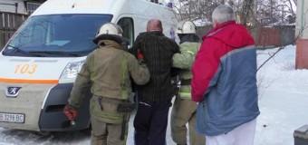 В Чернигове в жилом доме произошел взрыв. Видео