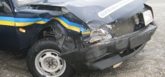 В Сумах авто полиции попало в ДТП. Фото