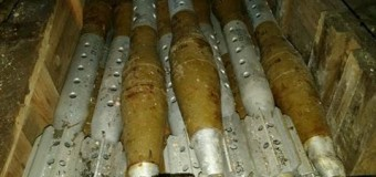 В зоне АТО нашли тайник с боеприпасами. Фото