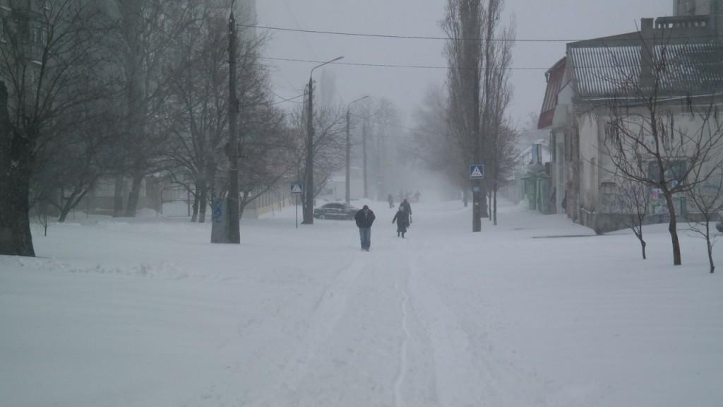 Україну з понеділка засипле снігом