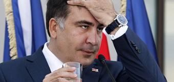 Саакашвили высмеяли на билбордах. Фото
