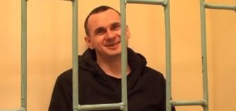 В сети появилось видео с заключенным в России украинским режиссером