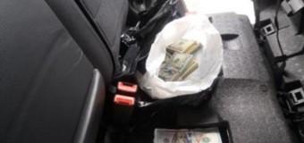 В ДНР пытались провезти четверть миллиона долларов. Видео