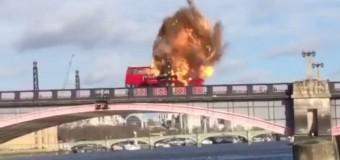 Для фильма с Джеки Чаном подорвали мост в Лондоне. Видео