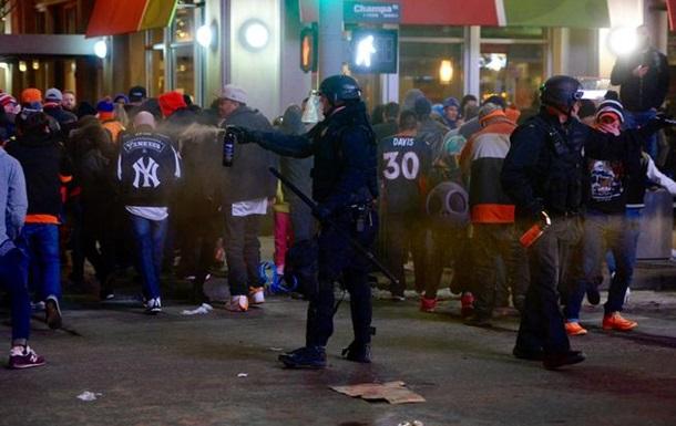 В Денвере фанаты устроили массовые беспорядки после матча. Видео