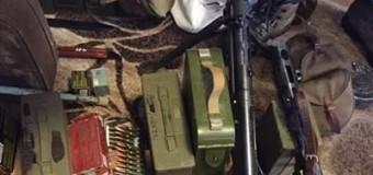 В Киеве нашли арсенал оружия из зоны АТО. Фото