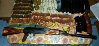 В Луганской области нашли тайник с оружием. Фото
