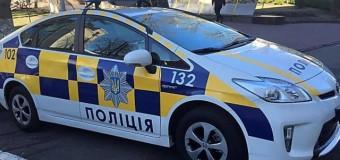 Киевские полицейские попали в ДТП. Фото