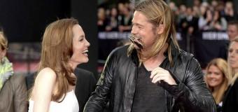 Анджелина Джоли и Брэд Питт необычным способом спасают отношения. Фото