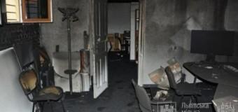 Во Львове мастерскую архитектора подожгли «коктейлями Молотова»