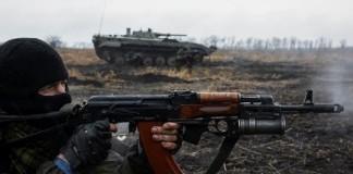 В окрестностях Горловки не утихают ожесточенные столкновения
