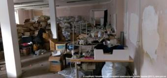 В Одесской области разоблачили фабрику, копирующую фирменную одежду. Фото