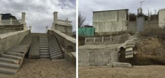 Крымские пляжи не готовы к новому курортному сезону. Фото
