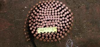 Житель Донецкой области вооружился найденными боеприпасами. Фото