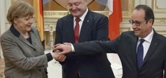 Сегодня Порошенко встретится с Меркель и Олландом