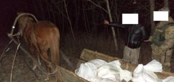 Мужчина пытался перевезти из Украины в Беларусь 14 мешков сала. Фото