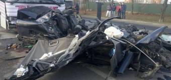 На Волыни иномарка столкнулась с автобусом: погибли четыре человека. Фото