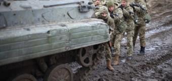 В Авдеевке на мине подорвалось авто с военными: есть погибшие