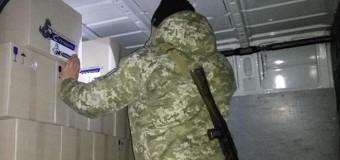 На территории оккупированного Донбассса задержали три авто с колбасой