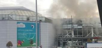 В аэропорту Брюсселя прогремели взрывы: погибли более 10 человек. Фото