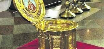 В Киеве из собора украли ларец с мощами Варвары