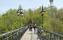 В Киеве открылся мост с признаниями в любви