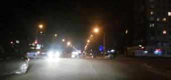 ДТП в Запорожье: после столкновения Жигули перевернулись вверх дном. Фото