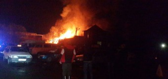 В Чернигове взорвался автопарк. Фото