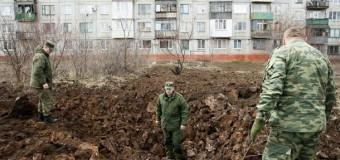 На Донбассе растет число артобстрелов. Фото