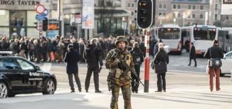 В результате беспорядков в Брюсселе задержали около 100 человек