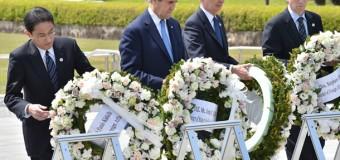 Керри впервые посетил Хиросиму. Фото