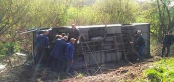 На Хмельниччине 17 человек пострадали в резыльтате аварии с автобусом