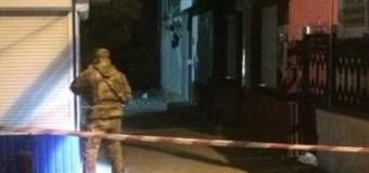 В Геническе взорвали магазин. Видео