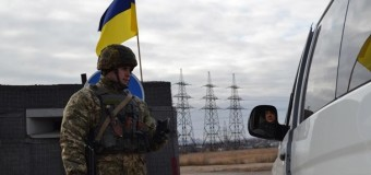 На КПП в Донбассе колоссальные очереди из авто
