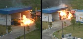 Взрыв на крымской АЗС: трое погибших. Фото