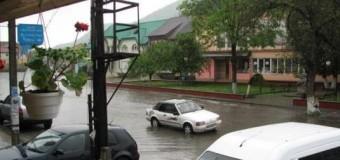 В одном из закарпатских городов произошло наводнение. Фото
