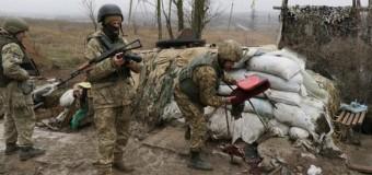В АТО обстреливают Марьинку и Донецк