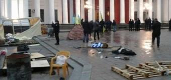 У горсовета Одессы произошла драка: есть пострадавшие