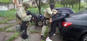 Полтавчанин торговал оружием из АТО. Видео