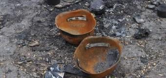 Взрыв в Горловке напугал местных жителей