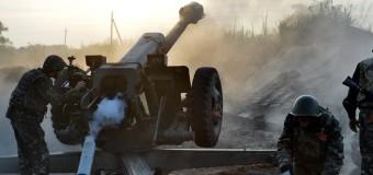 В АТО обстреливают Донецкое направление