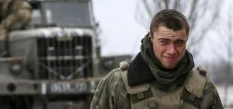 В зоне АТО подорвались трое украинских военных