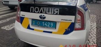 Винницкая полиция сбила девушку на переходе. Видео