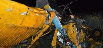 На Волыни разбился самолет
