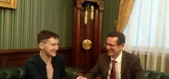 Савченко поговорила с помощником генсека ООН