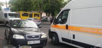 В Одессе за рулем автомобиля умер водитель